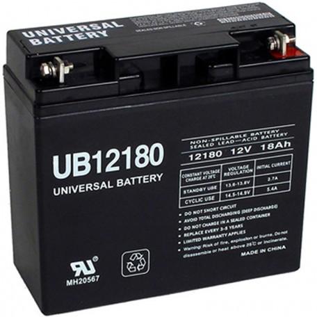 Pride Mobility BATLIQ1020 AGM 12 Volt, 17 Ah Replacement Battery