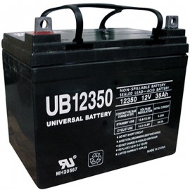 Pride Mobility BATLIQ1008 AGM 12 Volt, 35 Ah U1 Replacement Battery