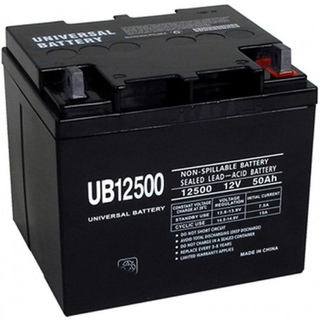 Pride Mobility BATLIQ1002 AGM 40Ah Replacement Battery 50ah