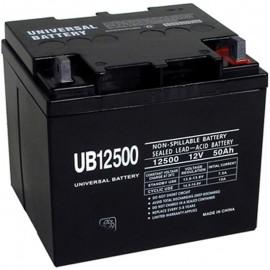 Pride Mobility BATLIQ1015 AGM 40Ah Replacement Battery 50ah