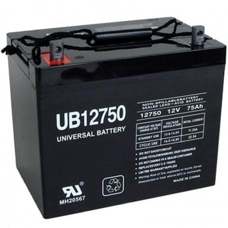 PRIDE BATLIQ1010 AGM Group 24 75ah Replacement Battery
