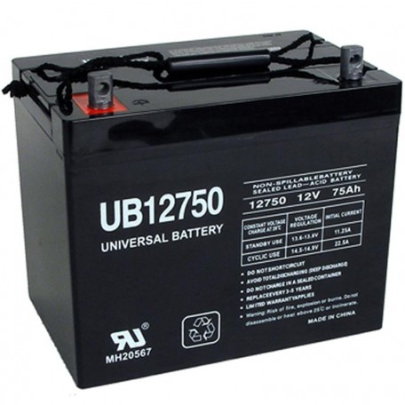 Pride Quantum Q6 Edge Hd Group 24 75ah Agm Battery
