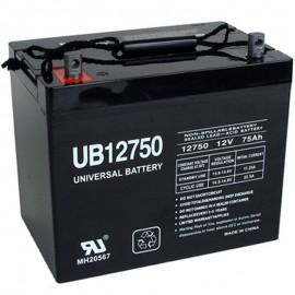 Pride Mini Crosser PMV130T3 PMV Group 24 75ah AGM Battery