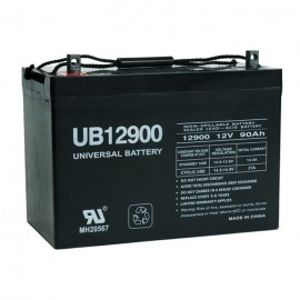 Universal Power UB12900 Group 27 Sealed AGM 12 Volt, 90 Ah Battery