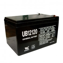 Universal Power UB12120 12 Volt, 12 Ah Sealed AGM Battery