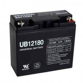 Universal Power UB12180 12 Volt, 18 Ah Sealed AGM Battery
