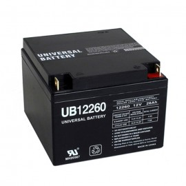 Universal Power UB12260 12 Volt, 26 Ah Sealed AGM Battery