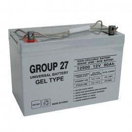 Universal Power UB-27 GEL 12 Volt, 90 Ah Sealed GEL Battery