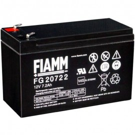 FG20722 F2 .250 terminals SLA AGM 12v 7.2ah Fiamm UPS Backup Battery
