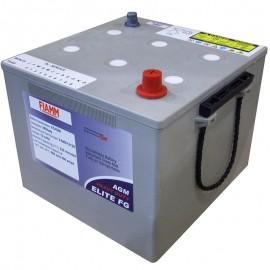 Fiamm 6TAGM 130ah PowerShield FGMX 12120 Elite FG AGM Battery
