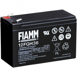 12FGH36 High Rate Flame Retardant SLA AGM 12v 9ah Fiamm Battery