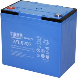 12FLX200 High Rate Battery replaces 55ah MTI GT12-55HR, GT 12-55 HR