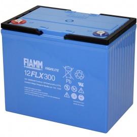 12FLX300 Battery for Yuasa HX300-12FR, HX300 12 FR
