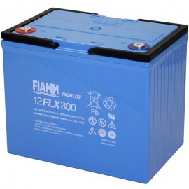 Fiamm 12FLX300 12 FLX 300 12v 75a 311w High Rate UPS Standby Battery