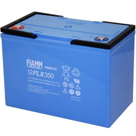 Fiamm 12FLX350 12 FLX 350 90ah 374wpc High Rate UPS Standby Battery