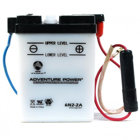 Honda 6N2-2A Motorcycle Replacement Battery