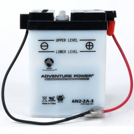 Adventure Power 6N2-2A-3  (6V, 2AH) Motorcycle Battery