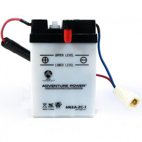 Adventure Power 6N2A-2C-1 (6V, 2AH) Motorcycle Battery