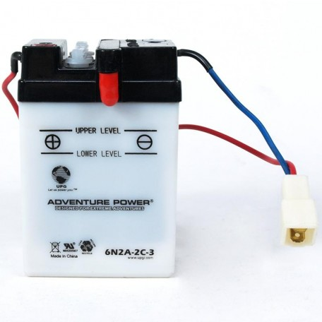 Honda 6N2A-2C-3 Motorcycle Replacement Battery