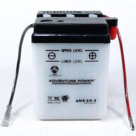 Adventure Power 6N4-2A-3 (6V, 4AH) Motorcycle Battery