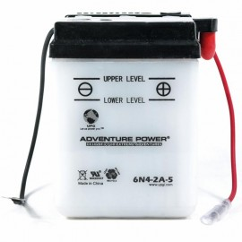 Adventure Power 6N4-2A-5 (6V, 4AH) Motorcycle Battery
