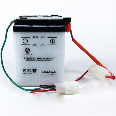 Adventure Power 6N4-2A-8 (6V, 4AH) Motorcycle Battery