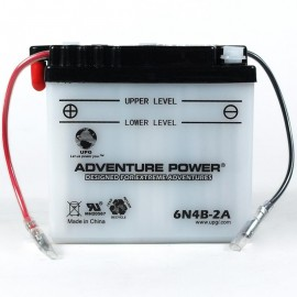 Suzuki TS100 Honcho Replacement Battery (1978-1981)