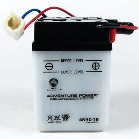 Adventure Power 6N4C-1B (6V, 4AH) Motorcycle Battery
