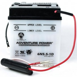 Honda 6N5.5-1D Motorcycle Replacement Battery