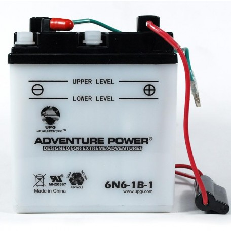Adventure Power 6N6-1B-1 (6V, 6AH) Motorcycle Battery