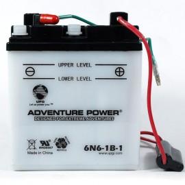 Yuasa 6N6-1B-1 Replacement Battery