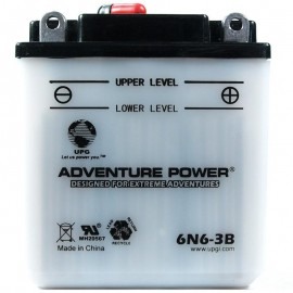Honda 6N6-3B Motorcycle Replacement Battery