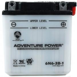 Honda 6N6-3B-1 Motorcycle Replacement Battery