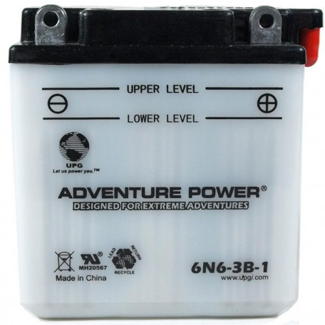 Yamaha BTY-6N63B-10-00 Conventional Motorcycle Replacement Battery