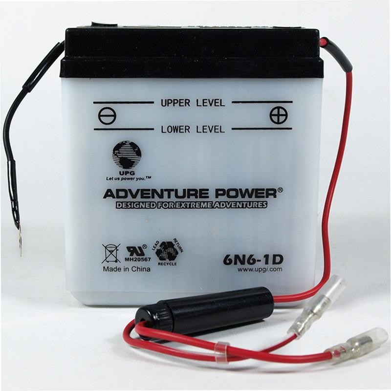 honda xl 200 battery connections