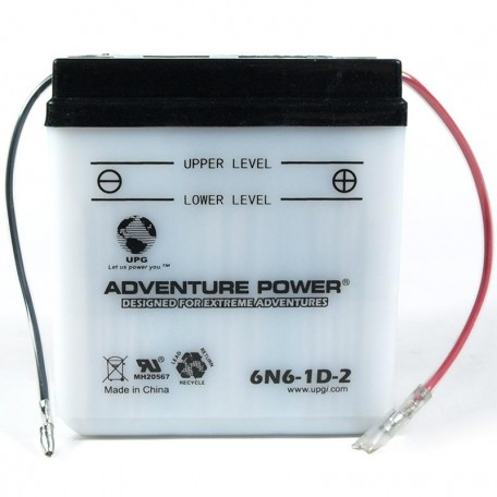 Kawasaki KE125-A Replacement Battery (1976-1983)