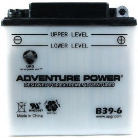 Adventure Power B39-6 (6V, 7AH) Motorcycle Battery