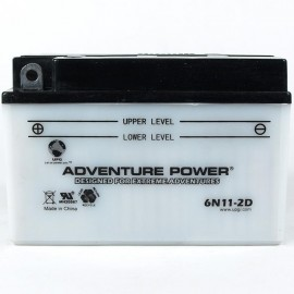 Adventure Power 6N11-2D (6V, 11AH) Motorcycle Battery