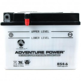 Adventure Power B54-6 (6n12A-2C) (6V, 12AH) Motorcycle Battery