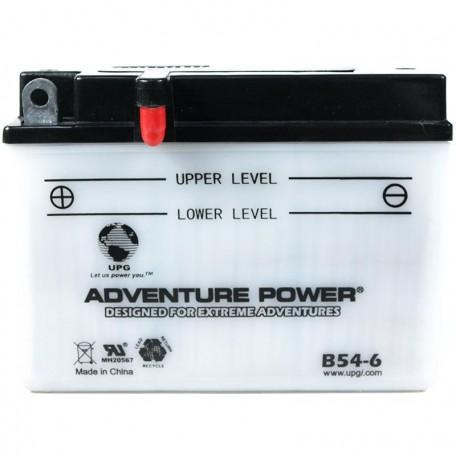 Adventure Power B54-6 (6n12A-2C) (6V, 12AH) Motorcycle Battery