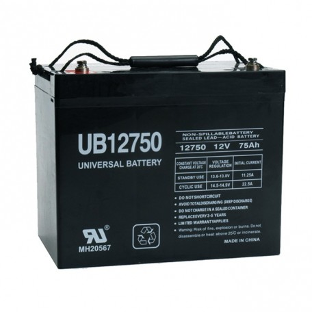Alpha Technologies CFR EBP-48EC, 032-047-XX UPS Battery