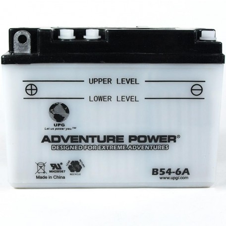 Adventure Power B54-6A (6n12A-2D) (6V, 12AH) Motorcycle Battery