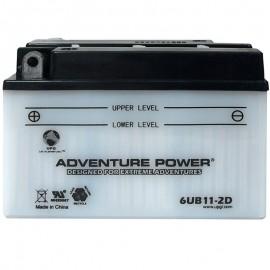 Adventure Power 6UB11-2D (6YB11-2D) (6V, 11AH) Motorcycle Battery