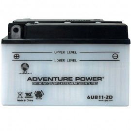 Honda 6N11-2D Motorcycle Replacement Battery