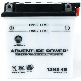 Honda 12N5-4B Motorcycle Replacement Battery