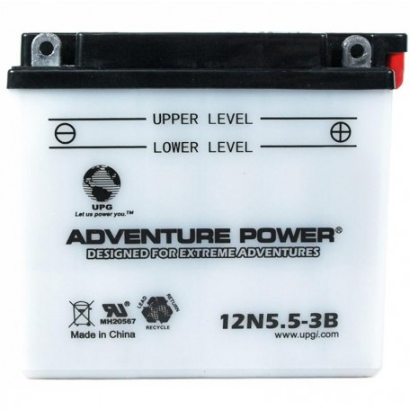Gilera SPO1, SPO2 Kick-Start Replacement Battery
