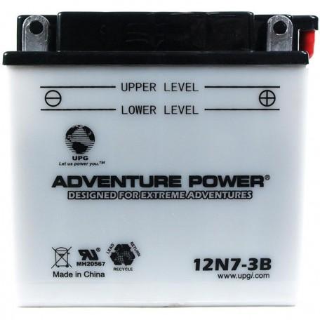 Adventure Power 12N7-3B (12V, 7AH) Motorcycle Battery
