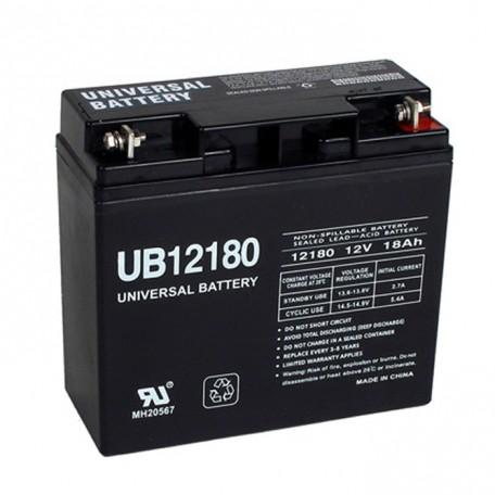 Alpha Technologies CFR 2500E, 107-074-XX, 107-107-XX UPS Battery