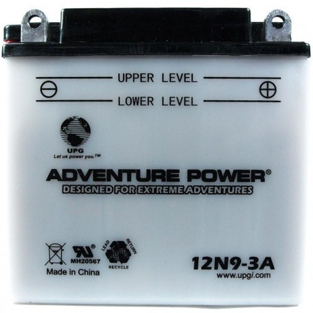 Honda 31500-KR3-671 Motorcycle Replacement Battery