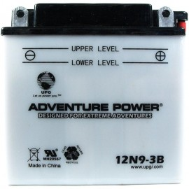 Power-Sonic 12N9-3B Replacement Battery